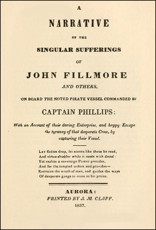 John Fillmore and the pirate Captain Phillips