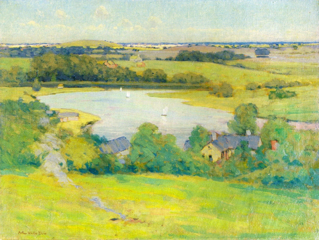 An Ipswich Distance by Arthur Wesley Dow
