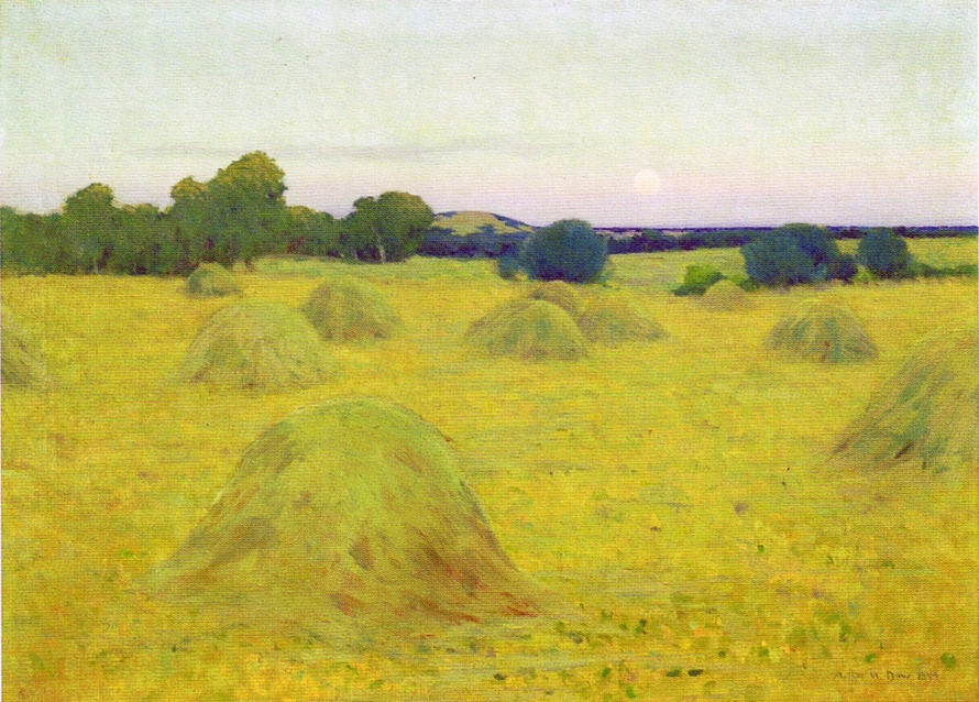 Meadow Hay by Arthur Wesley Dow