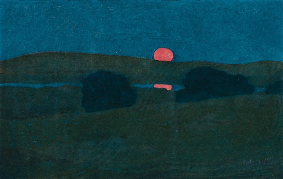 August Moon by Arthur Wesley Dow