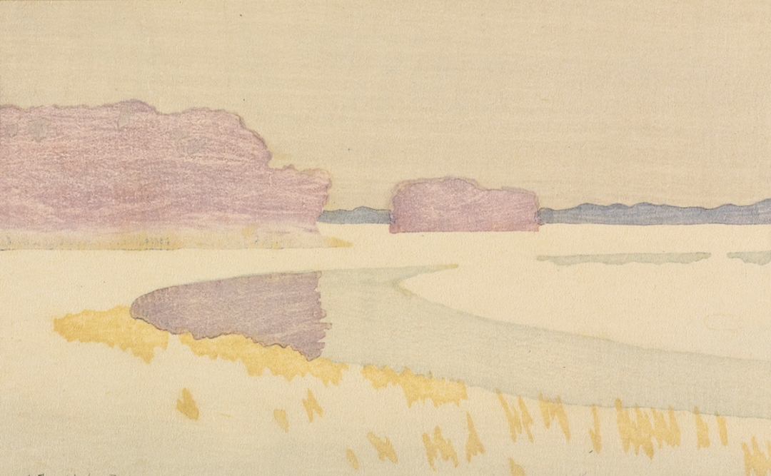 Bend of a River by Arthur Wesley Dow