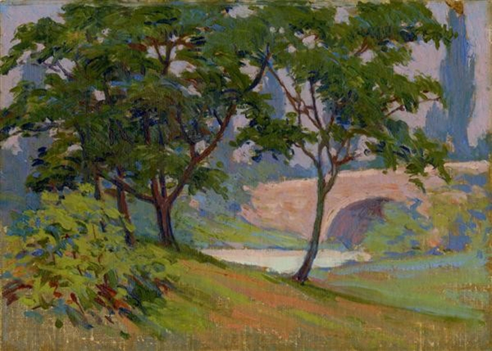 Bridge by Arthur Wesley Dow