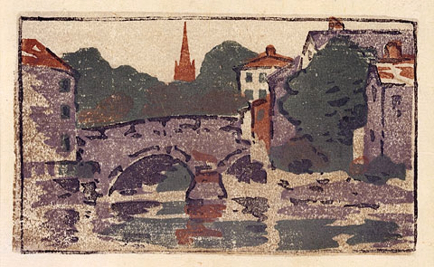 Choate Bridge by Arthur Wesley Dow