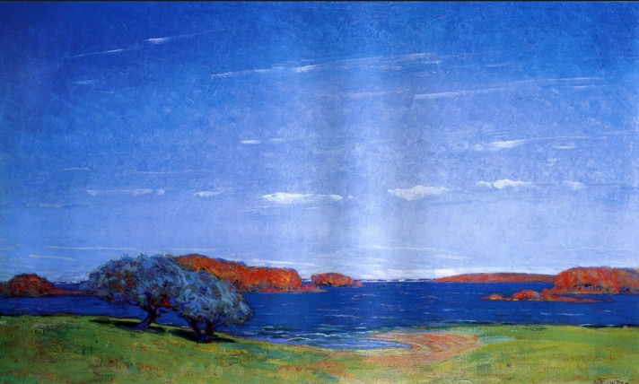 River Color by Arthur Wesley Dow