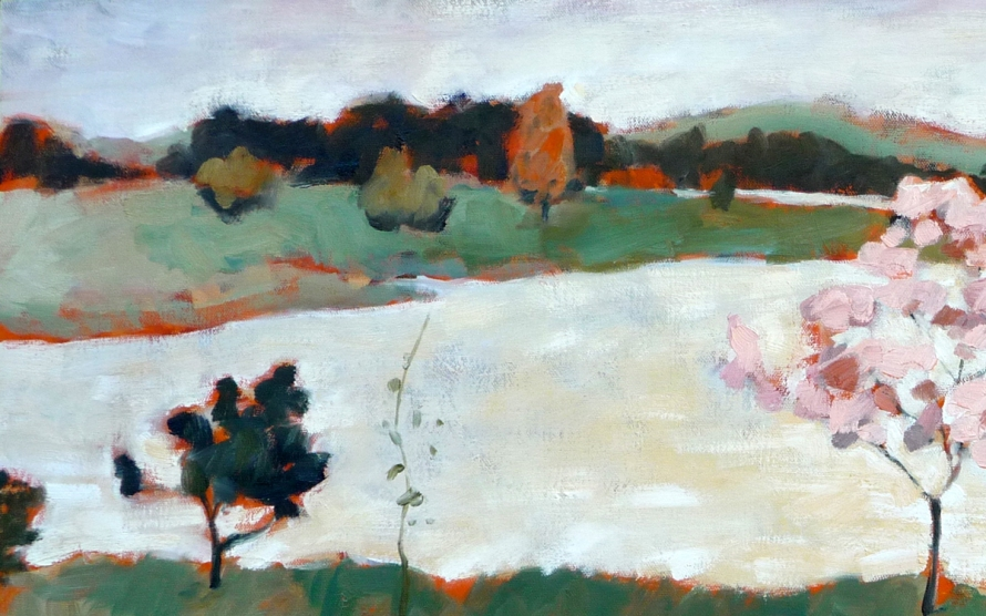 Color study by Arthur Wesley Dow