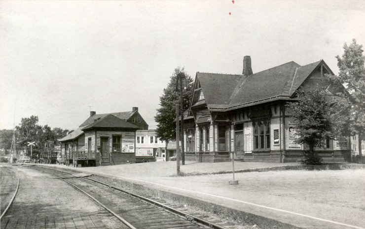 Ipswich Depot in the early 1950s