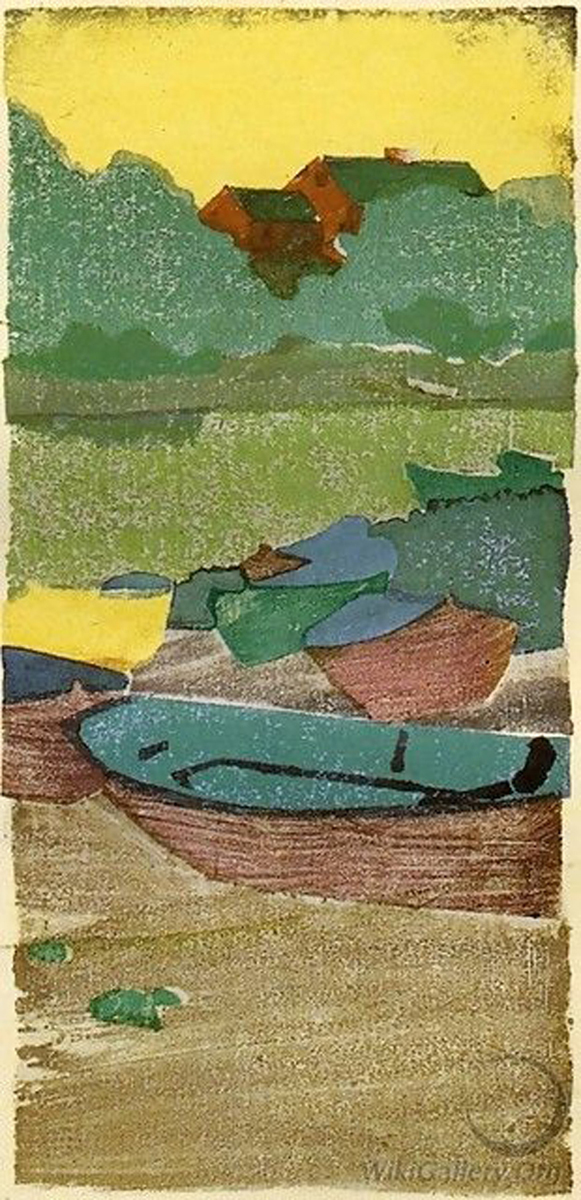 dory by Arthur Wesley Dow
