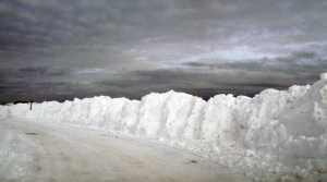The Blizzard of 2015, Argilla Road in Ipswich