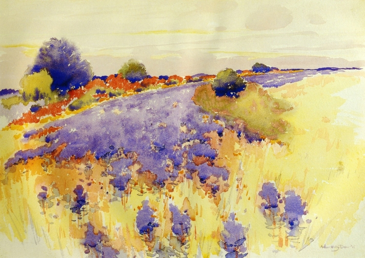 Flowering Field by Arthur Wesley Dow