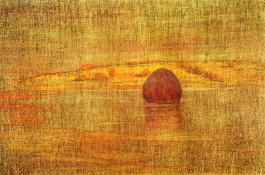 Haystack in the Marsh by Arthur Wesley Dow