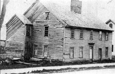 The William Caldwell house on High Street exemplified the reputation of Ipswich as
