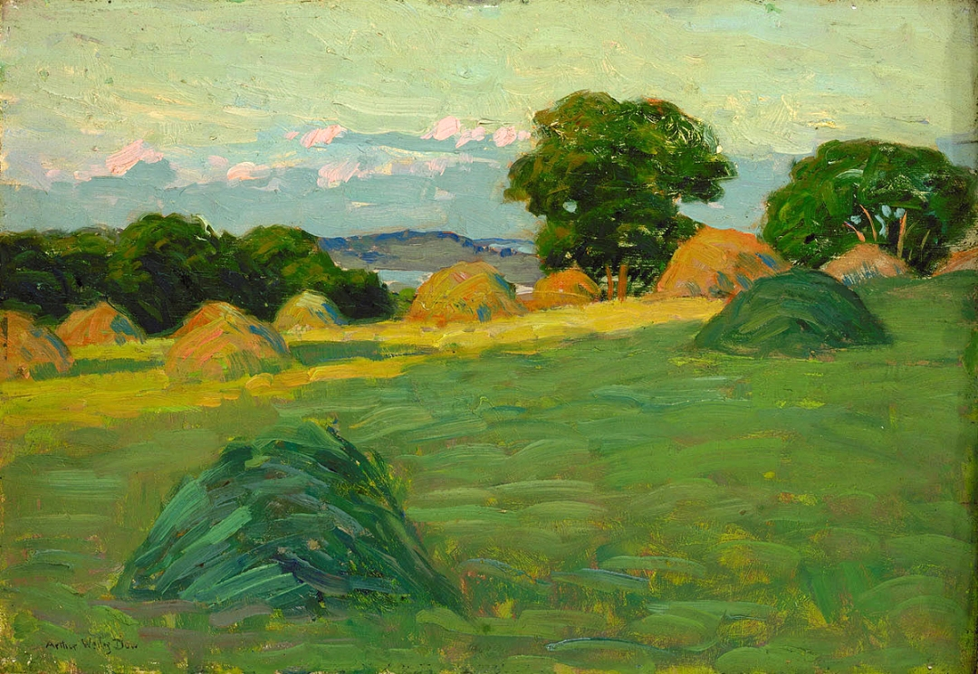 Hill and Field by Arthur Wesley Dow