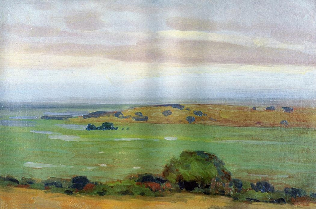 Shadow of a Thundercloud by Arthur Wesley Dow