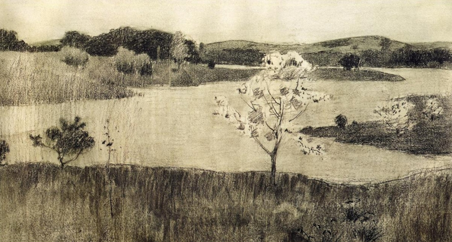 Japanese Tree by Arthur Wesley Dow