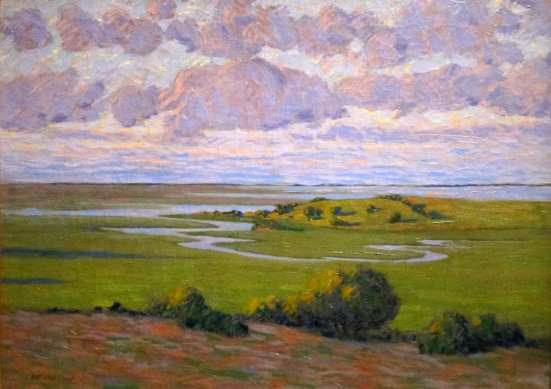 Lavendar and Green by Arthur Wesley Dow
