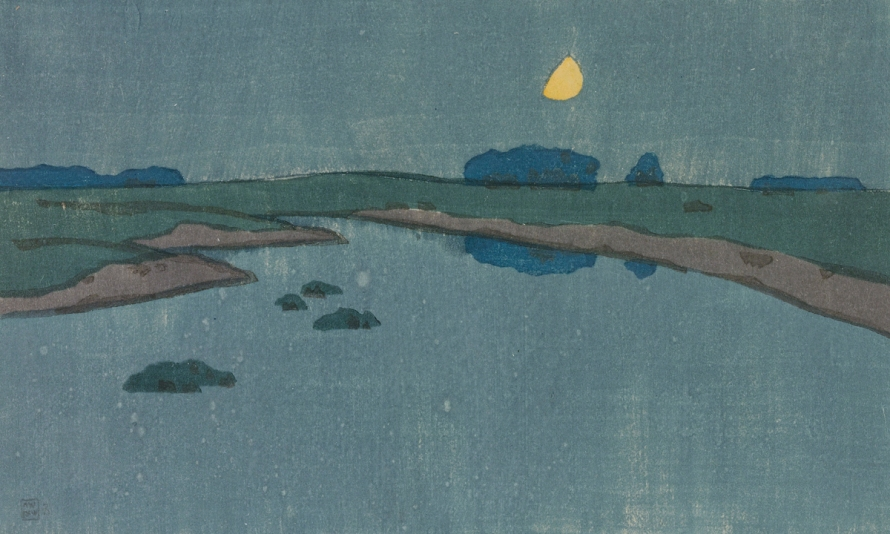 Marsh Creek by Arthur Wesley Dow