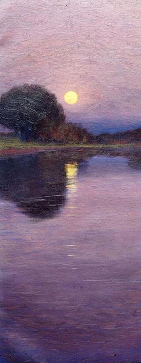 Moonrise by Arthur Wesley Dow