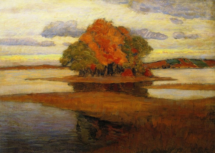 Nightfall by Arthur Wesley Dow