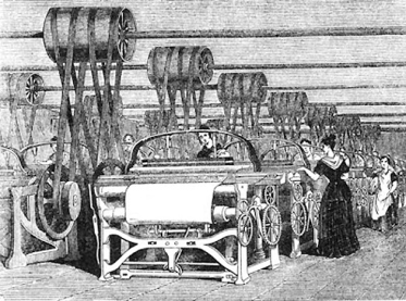 Most of the workers were foreign-born women. The building was so filled with machinery that workers could feel it vibrating.