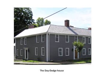 Day-Dodge house, corner of North Main and East Streets