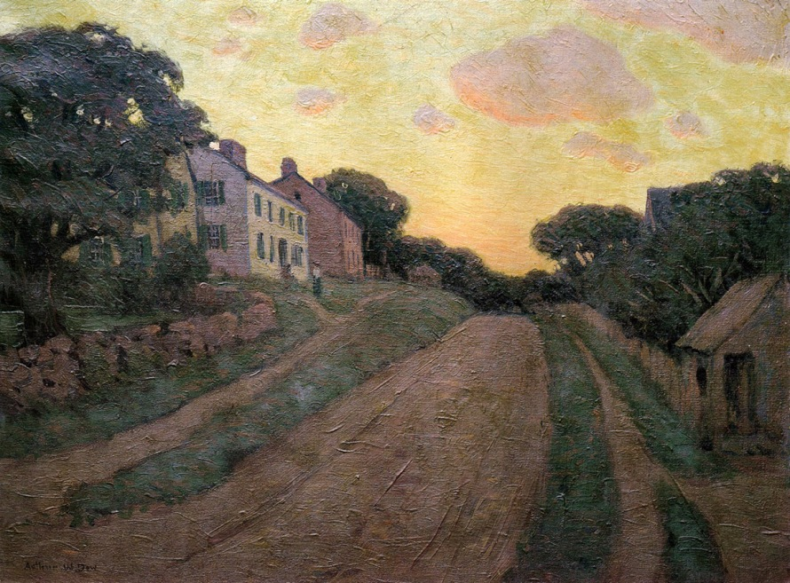 Summer Street by Arthur Wesley Dow