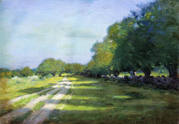 Sun Dappled Path by Arthur Wesley Dow