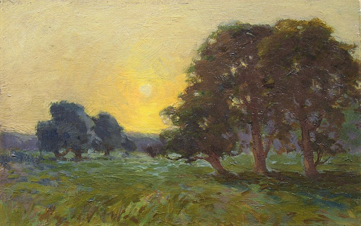 Sunset by Arthur Wesley Dow