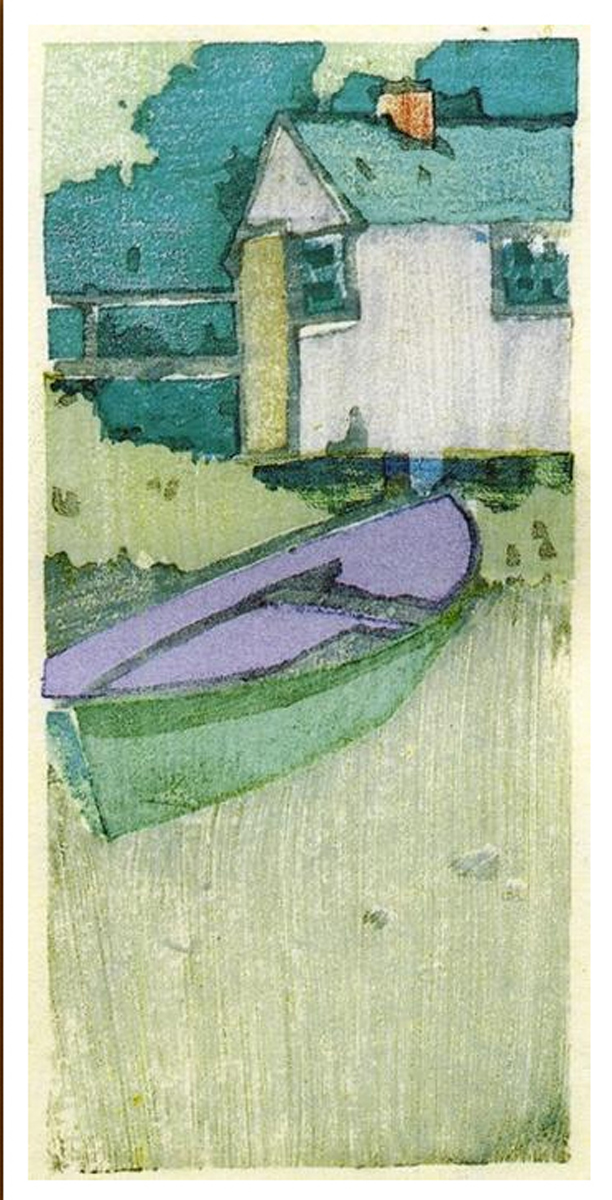 The dory by Arthur Wesley Dow