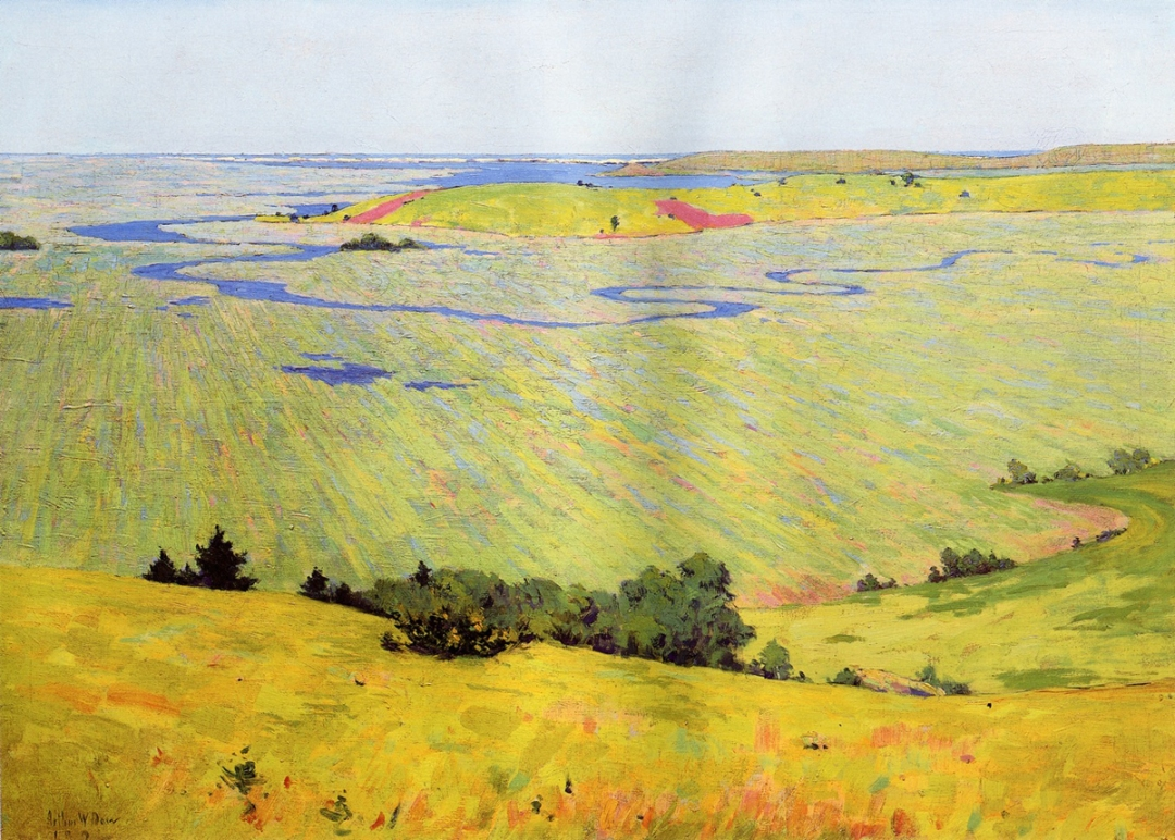 Marsh View by Arthur Wesley Dow