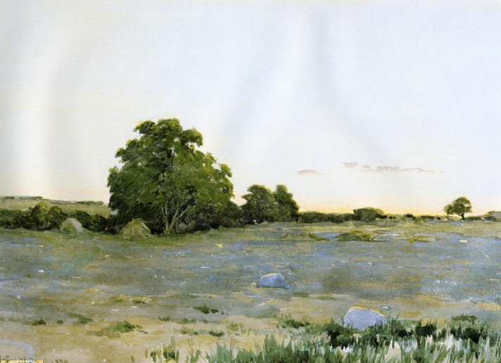 Water Meadows by Arthur Wesley Dow
