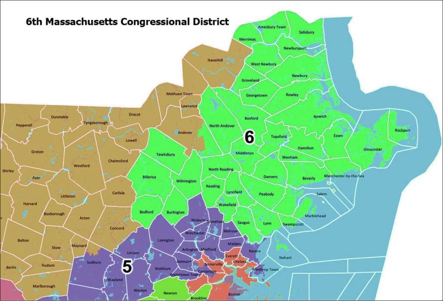 6th Massachusetts District