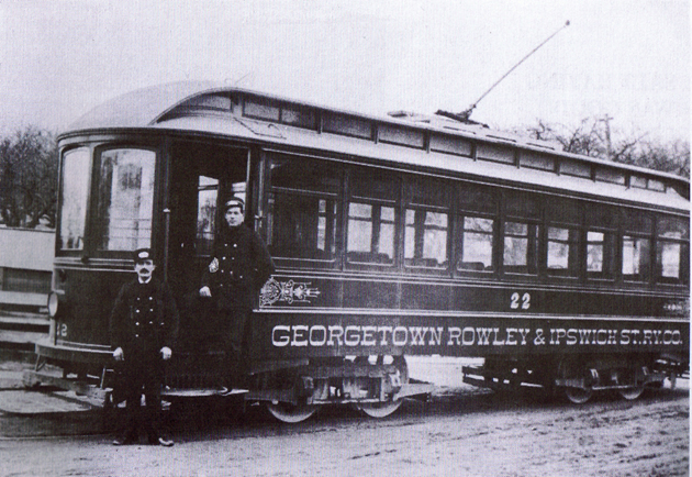 The Georgetown-Ipswich trolley