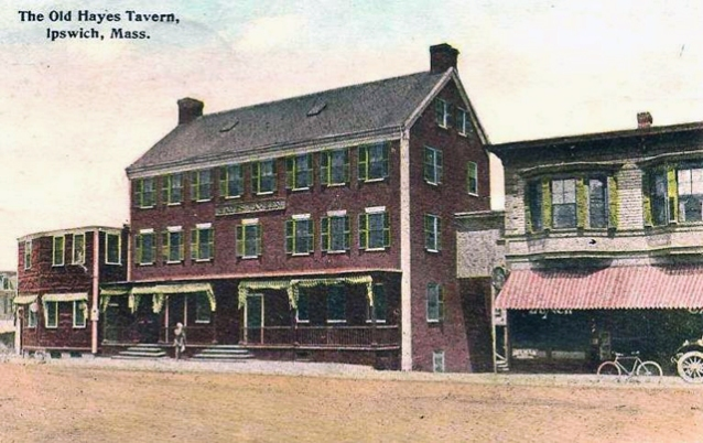 The Hayes Hotel on Depot Square in better days.