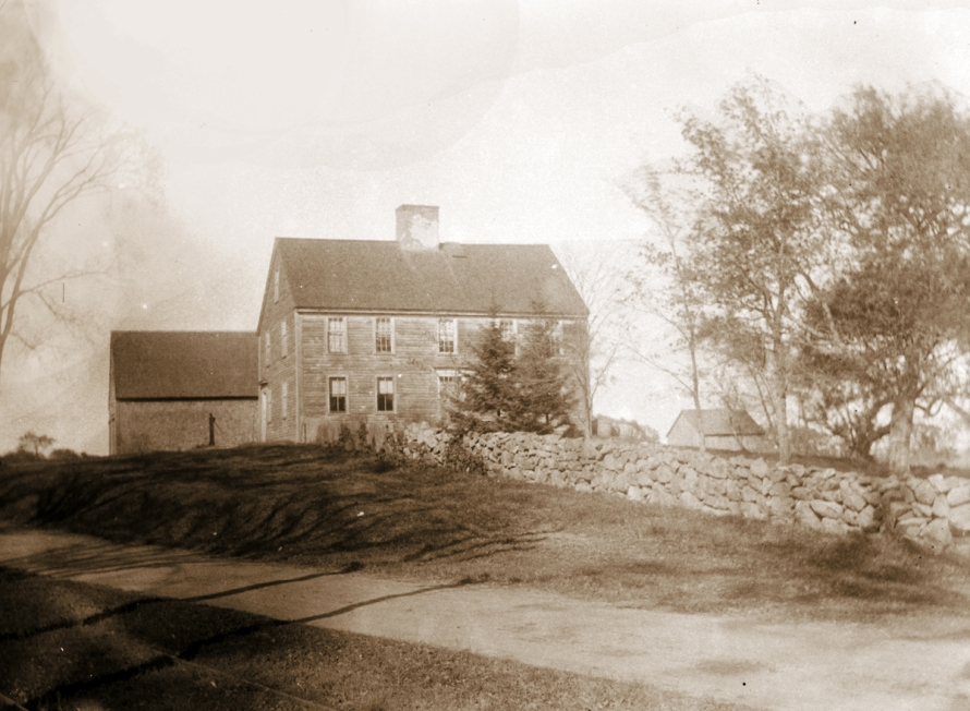 The Moses Jewett house, 1800's