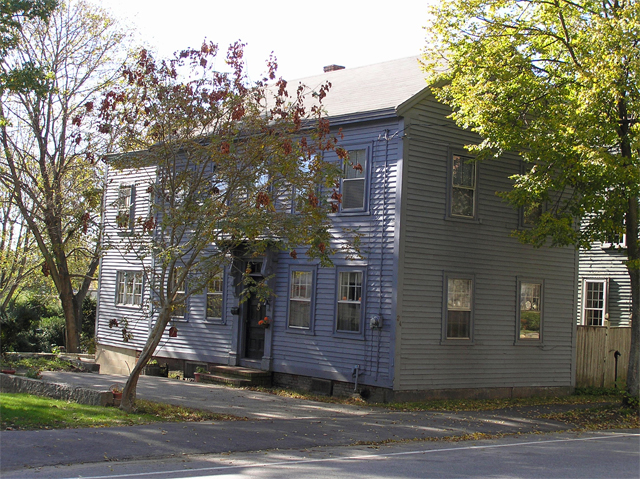 The J. W. Gould house at 24 High Street as it appeared in 2013