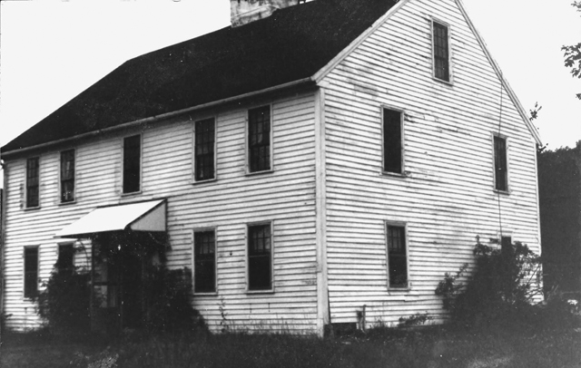 The Moses Jewett house in 1980. Photo by Prudence Fish.