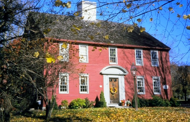 The Moses Jewett house, photo by Prudence Fish