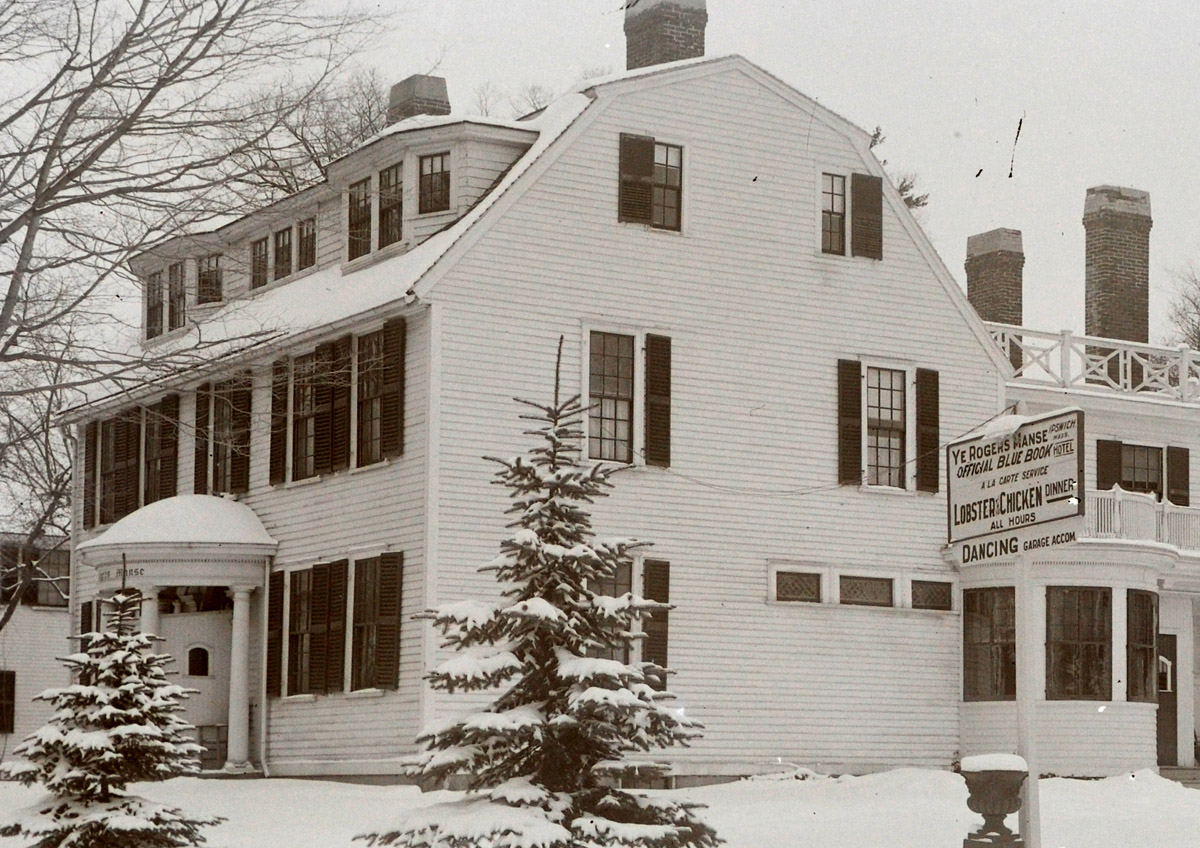 """""""Old Manse"""" at 1 High Street now known as the House of Peace."""
