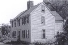 The house formerly at 16 Elm St. in Ipswich MA is now at the Smithsonian.