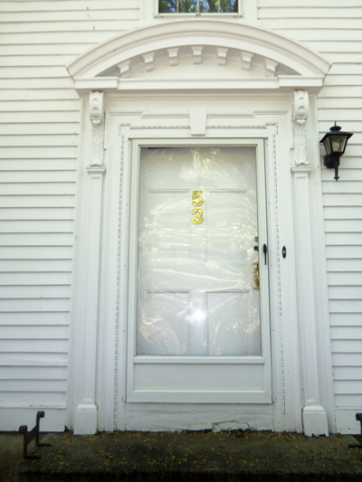 Samuel Giddings house front door