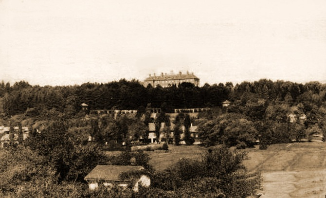 The first Crane Castle was torn down and replaced by the one still standing.