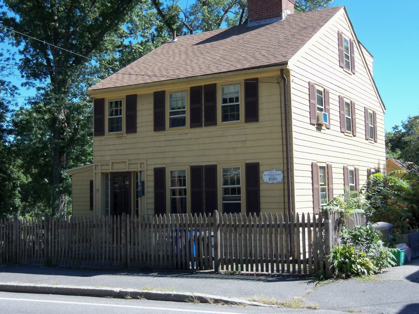 Luther Wait house, 35 East St., Ipswich