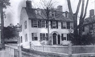 The old manse in Ipswich, 1900
