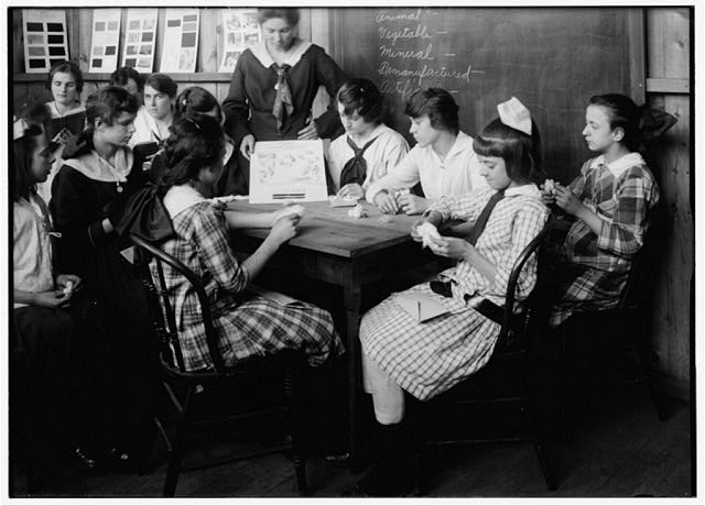 classrooms at Ipswich Mills