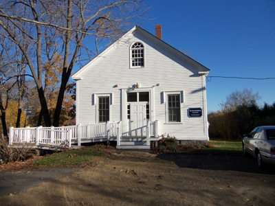 First Church vestry and Along the Way Coffee House, Ipswich MA