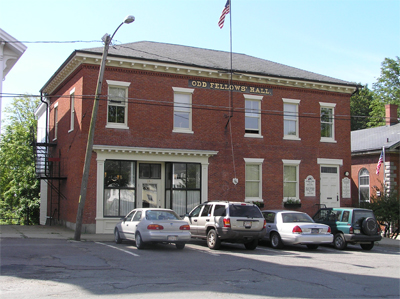 The Odd Fellows Building at 29 North Main Street in Ipswich