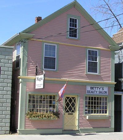 Baker's Clothing Store at 37 South Main Street  in Ipswich