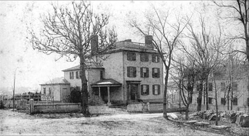 thomas_manning_parsonage_1800s