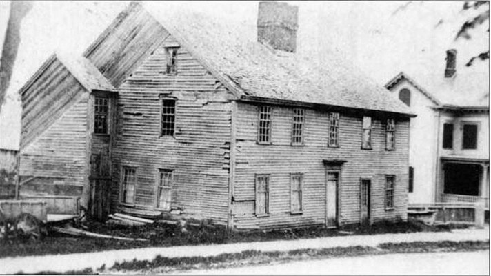 The Old Caldwell house on High St., removed