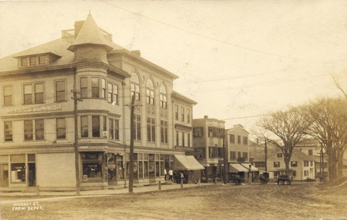 Damon Building and Market St.